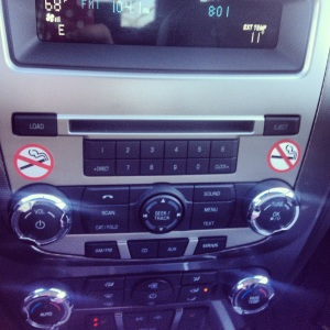 I had a rental car after an accident (I'm okay!) and it had A LOT more buttons