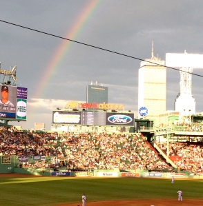 A beautiful night for a Red Sox game