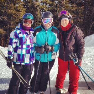 I had a great ski vacation with family