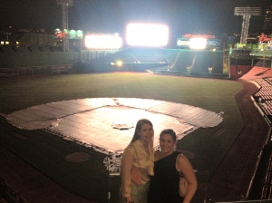 I enjoyed a wonderful fundraiser for the children of Newtown at Fenway Park