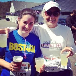 Beer & Margarita tickets for running the Cinco de Miles 5K